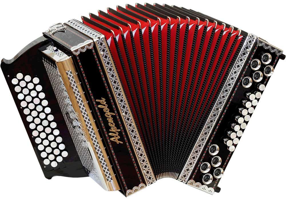 Steirische Harmonika von Alpengold - Bei uns im Rhön Harmonika-Laden