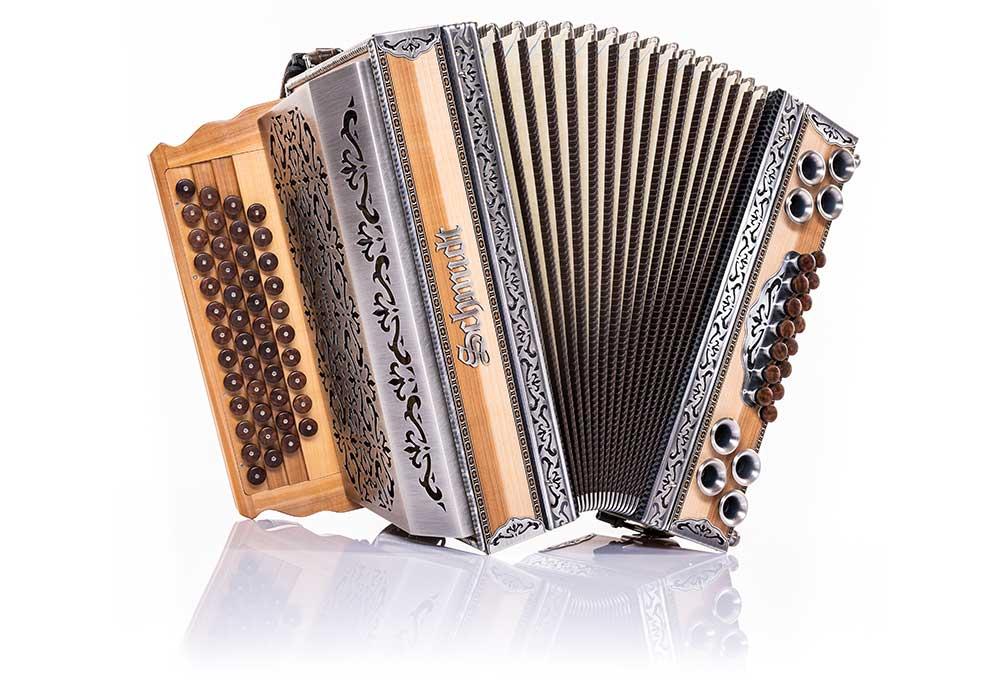 Steirische Harmonika von Schmidt - Bei uns im Rhön Harmonika-Laden